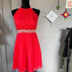 NWT Red Short Prom Dress